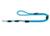 Hunter Nylon Führleine Freestyle, Reflektor, petrol