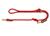 Hunter Verstellbare Führleine Oss, rot