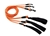 Hurtta Lifeguard Dazzle Seil-Leine, signal-orange