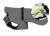 iqo Hundemantel Wintertraum (inkl. Wattierung und Innenfleece), camouflage gelb/schwarz/grau