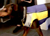 iqo Reflektor-Sicherheitsweste mit Mesh, gelb/blau