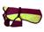 IQO Softshell Regenmantel, brombeer/neongelb