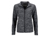James & Nicholson Damen Melange Fleecejacke, grey-melange/anthracite