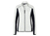 James & Nicholson Damen Strukturfleece Jacke, off-white/carbon