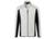 James & Nicholson Herren Strukturfleece Jacke, off-white/carbon