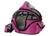 Karlie Shopper de Luxe Liegekorb und Hundetragetasche, pink