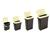 Futterbehälter Maelson Dry Box, elfenbein/schwarz