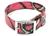 Hundehalsband Biothane Deluxe, camo-pink