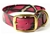 Mystique Halsband Biothane Deluxe (Messing), camo-pink