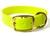Mystique Halsband Biothane Deluxe (Messing), neon-gelb