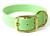 Mystique Halsband Biothane Deluxe (Messing), pastell-grün