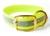 Mystique Halsband Biothane Deluxe (Messing), reflex-gelb