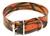 Mystique Hundehalsband Biothane, camo-orange
