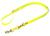 Mystique Biothane (gold) verstellbare Leine Führleine (MESSING Karabiner), gelb gold