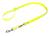 Mystique Biothane (gold) verstellbare Leine Führleine (Standard Karabiner), gelb gold