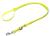 Mystique Biothane REFLEX verstellbare Leine Führleine (Standard Karabiner), gelb gold
