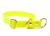 Mystique Biothane Schlupfhalsband Messing, beta neongelb