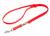 Mystique Biothane verstellbare Leine Führleine (Standard Karabiner, VERNÄHT), neonorange