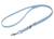 Mystique Biothane verstellbare Leine Führleine (Standard Karabiner, VERNÄHT), pastellblau