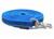 Mystique gummierte Schleppleine (ROSTFREI Scherenkarabiner), blau