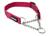 Mystique gummiertes Hundehalsband mit Durchzugskette, purpur