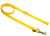 Mystique Nylon Leine (MESSING Karabiner), gelb
