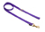Mystique Nylon Leine (MESSING Karabiner), lila