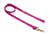 Mystique Nylon Leine (MESSING Karabiner), purpur