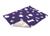 Original Vetbed Premium Hundedecke, violett mit Applikationen