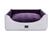 padsforall Hundebett Alma Trendline, silber-violett