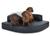 padsforall Hundebett Esquina Kunstleder, schwarz