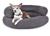 padsforall Hundebett Luna Comfort, grau