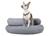 padsforall Hundebett Luna Comfort, silber