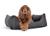 padsforall Hundebett Worldcollection Comfort, grau