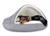 padsforall Hundehöhle Shell Comfort, silber