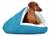 padsforall Hundehöhle Shell Comfort, türkis