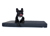 padsforall Hundematte Nuvola aus Kunstleder gesteppt, schwarz