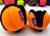 Puppingtons Pods mit Schlaufe interaktives Hundespielzeug, orange