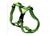 Rogz Utility Brustgeschirr mit Reflektoren, grün