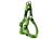 Rogz Utility Reflective Stitching Step in Hundegeschirr, grün