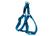 Rogz Utility Reflective Stitching Step in Hundegeschirr, hellblau