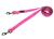 rukka Form Neon Multi Leash Hundeleine, neon pink