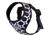 rukka Mini Comfort Print Harness Hundegeschirr, black/white