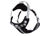 rukka Solid Harness Hundegeschirr, schwarz/weiss