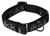 rukka Solid Web Collar Hundehalsband, black/grey