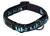 rukka Solid Web Collar Hundehalsband, black/türkis