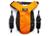 SleepyPod Clickit Sport Hunde-Sicherheitsgurtgeschirr, orange dream