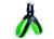 Tre Ponti Hundegeschirr Easy Fit Soft Mesh NEON Click-Verschluss, neongrün