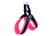 Tre Ponti Hundegeschirr Easy Fit Soft Mesh NEON Click-Verschluss, neonrosa