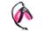 Tre Ponti Hundegeschirr Easy Fit Soft Mesh (reflektierend) mit Kordelzug, rosa
